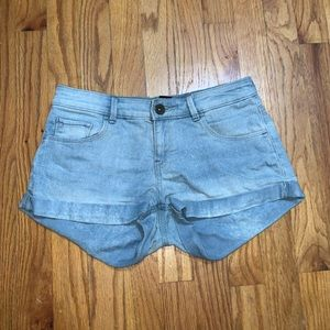 Jean shorts from H&M
